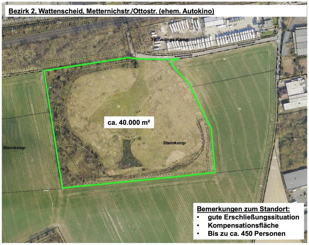 Bezirk 2, Wattenscheid Metternichstr. Ottostr.