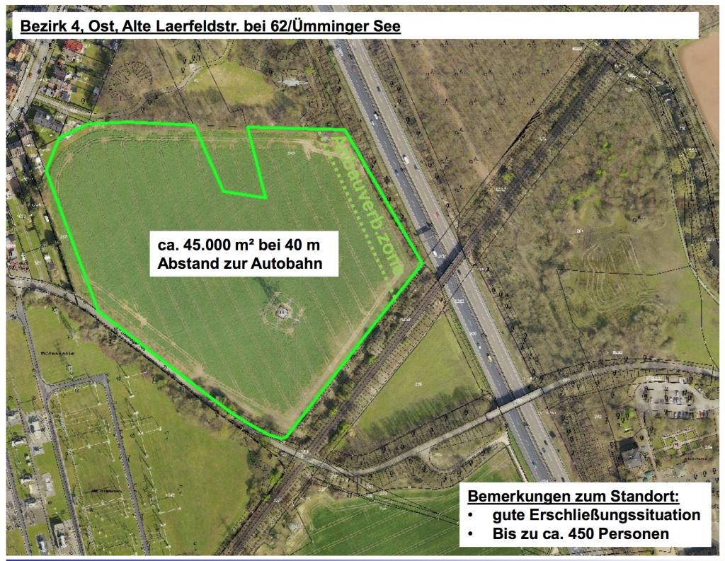 Bezirk 4, Ost Alte Laerfeldstr. bei 62 uemminger See