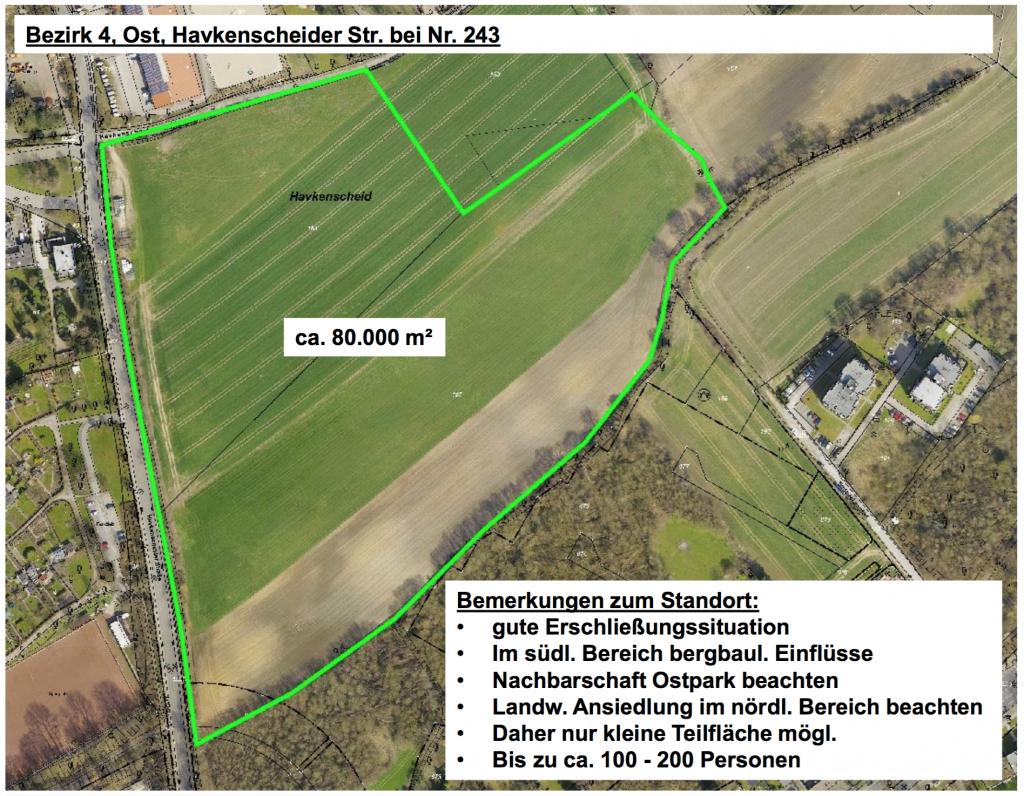Bezirk 4, Ost Havkenscheider Str. bei Nr. 243
