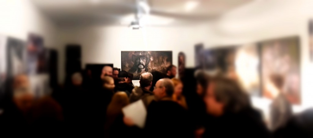 lemmy kilmister bochum painted in blood sold ou gallery
