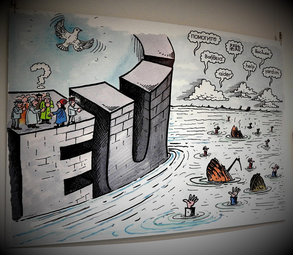 karikaturen-waldemar manzel bochum Stadtarchiv