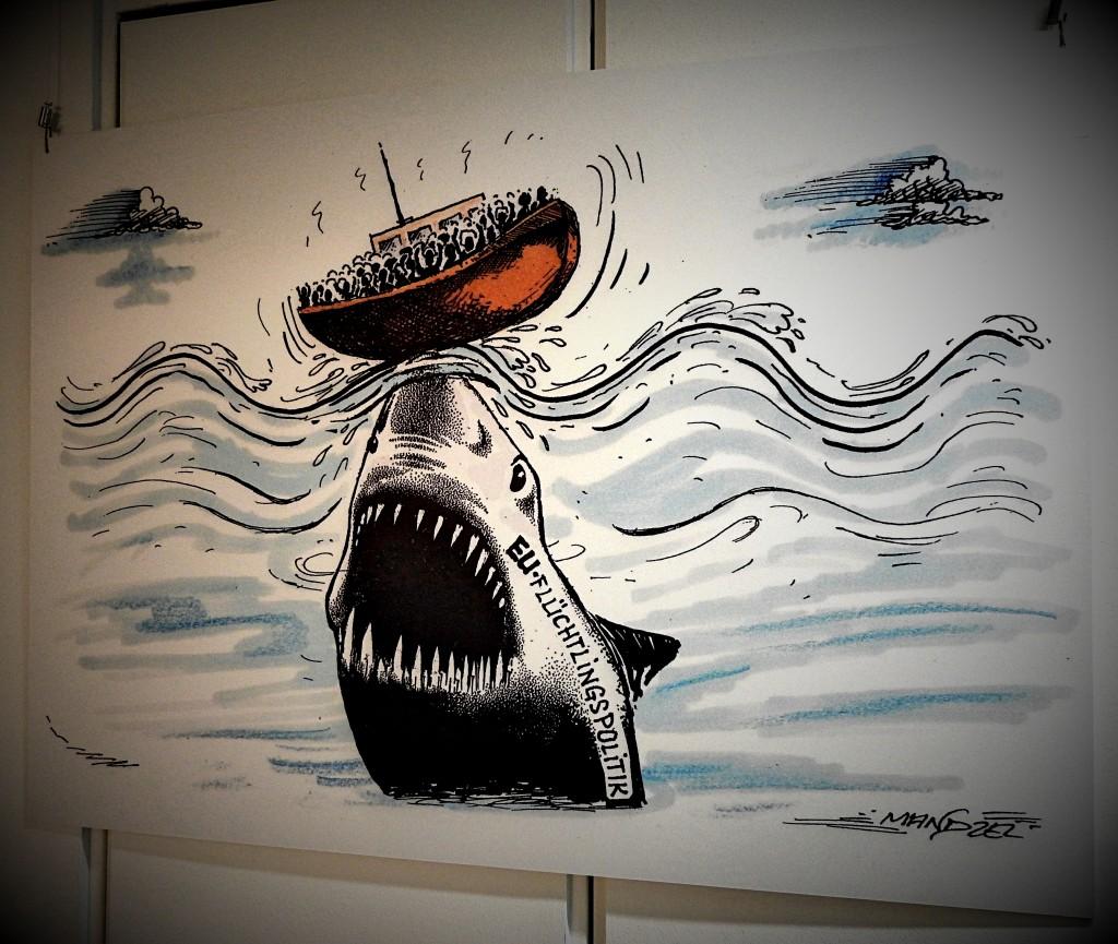 karikaturen waldemarmanzel bochum Stadtarchiv