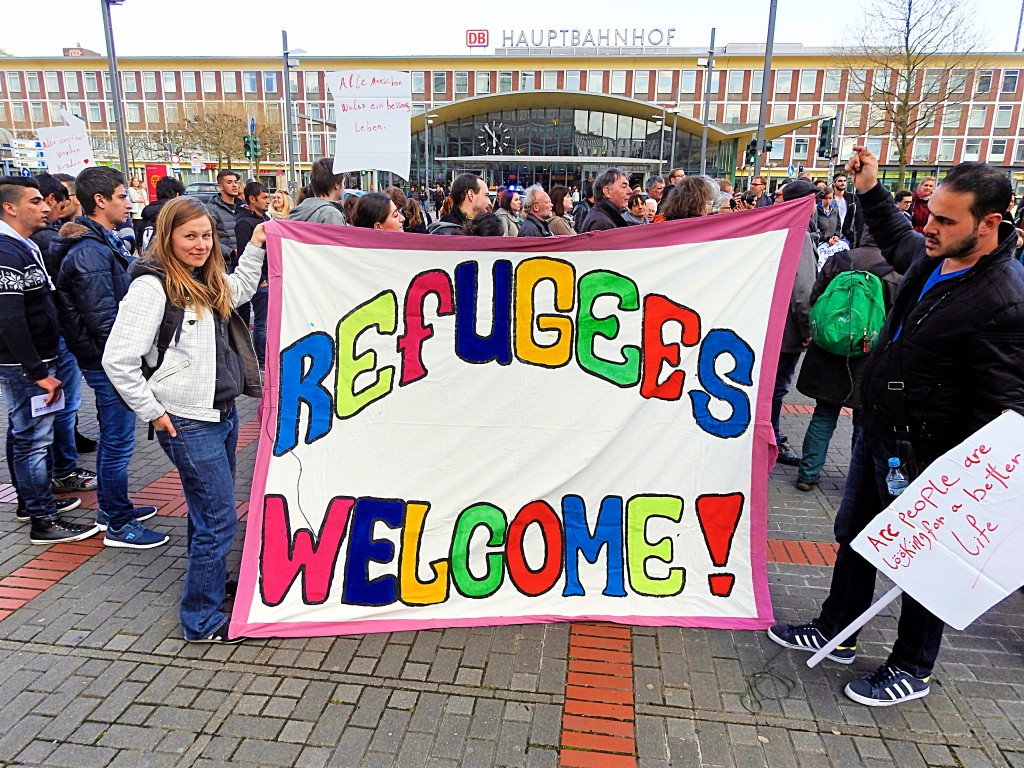 refugees welcome walk for a better life 0