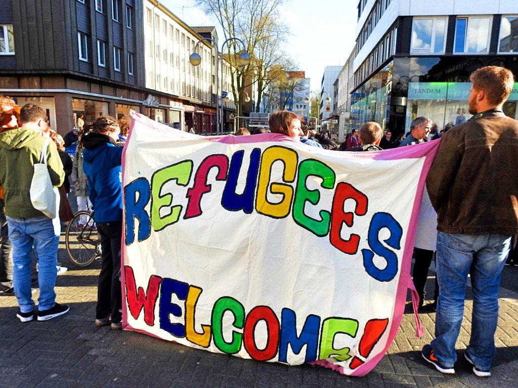 refugees welcome walk for a better life 00