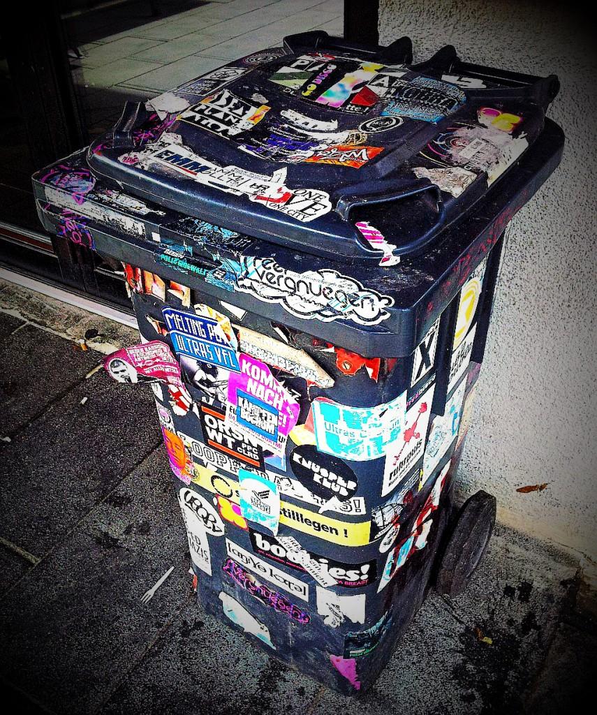 Immer noch die schönste Mülltonne Bochums