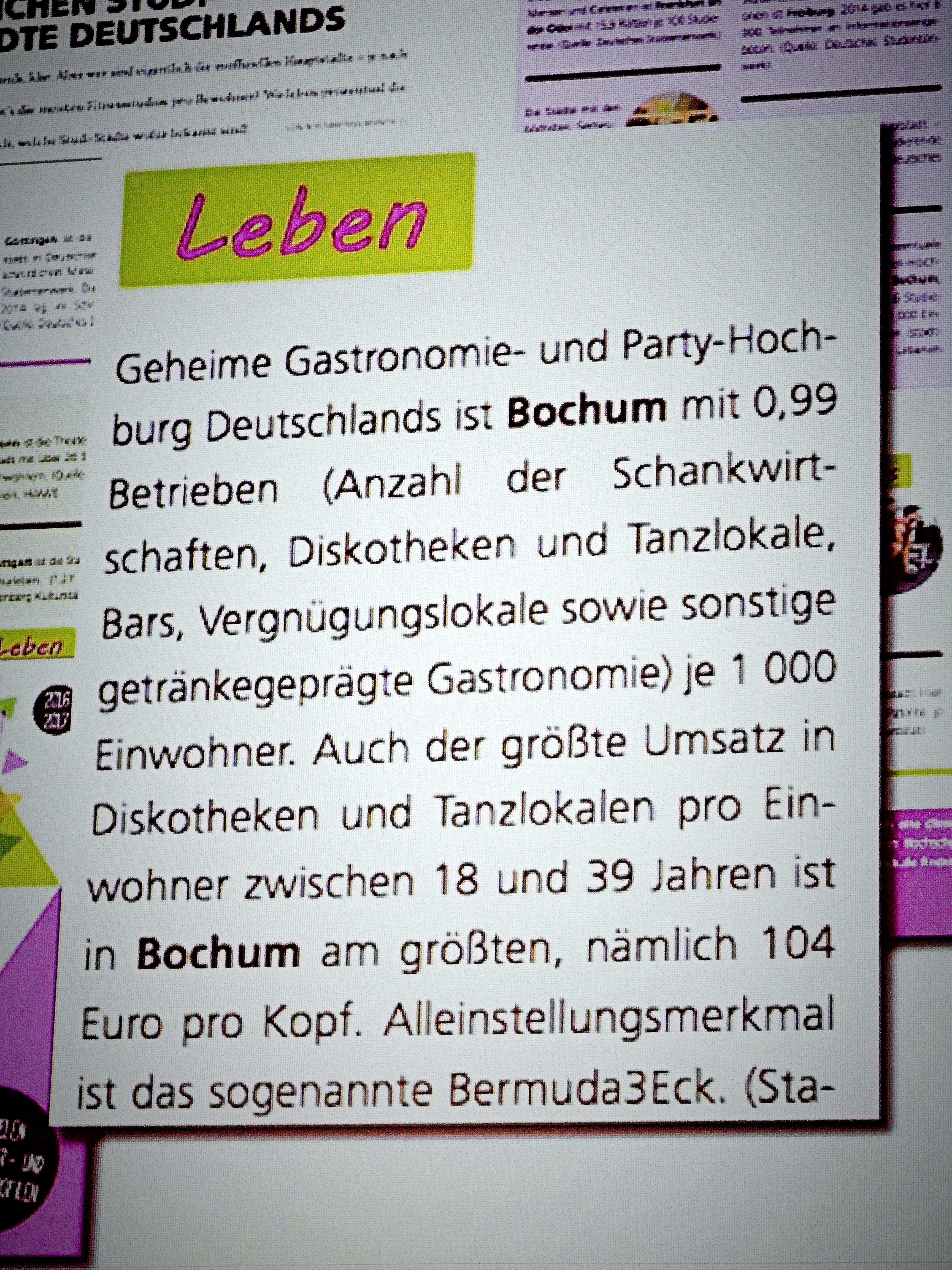 In der geheimen Gastronomiehochburg ist der größte Umsatz am größten ...